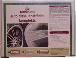 Auto disku tīrīšanas un apstrādes komplekts
