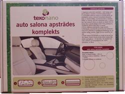 Auto salona tīrīšanas un apstrādes komplekts